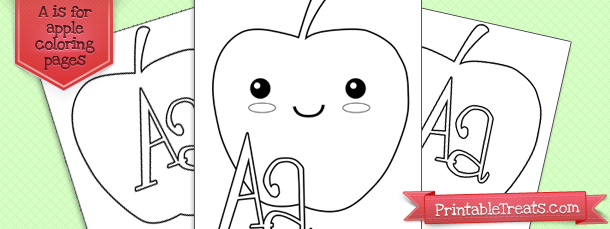 a-is-for-apple-coloring-page