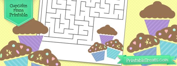cupcake-maze-printable