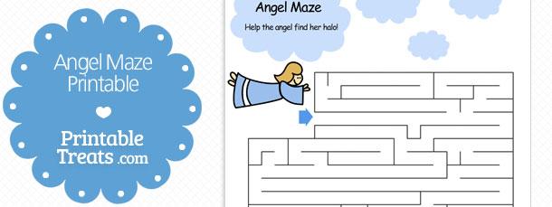 free-angel-maze-printable