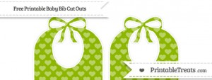 free-apple-green-heart-pattern-large-baby-bib-cut-outs-to-print