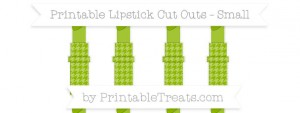 free-apple-green-houndstooth-pattern-small-lipstick-cut-outs-to-print