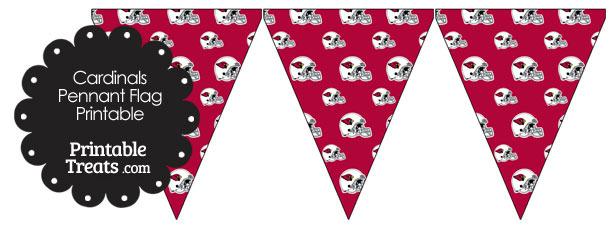 Arizona Cardinals Football Helmet Pennant Banners