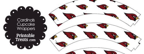 Arizona Cardinals Logo Cupcake Wrappers