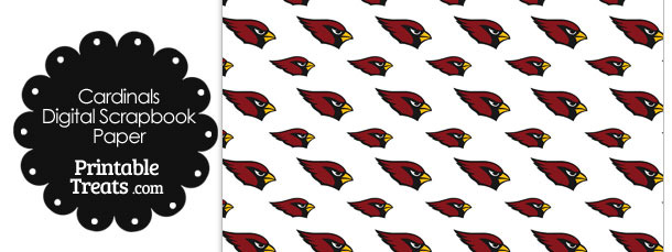 Arizona Cardinals Logo Digital Paper