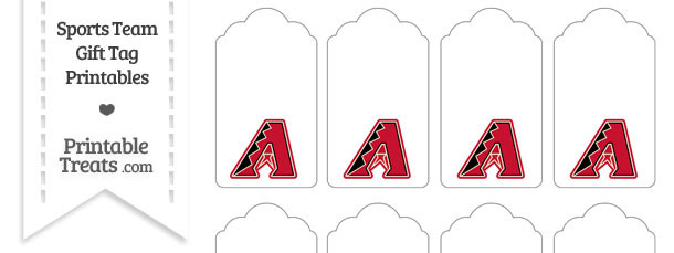 Arizona Diamondbacks Gift Tags