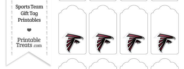 Atlanta Falcons Gift Tags