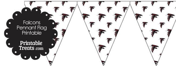 Atlanta Falcons Logo Pennant Banners