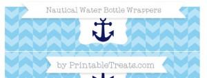 free-baby-blue-herringbone-pattern-nautical-water-bottle-wrappers-to-print