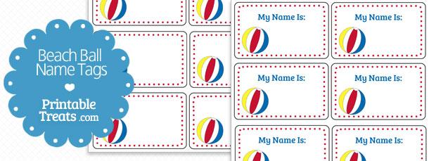 free-beach-ball-name-tags