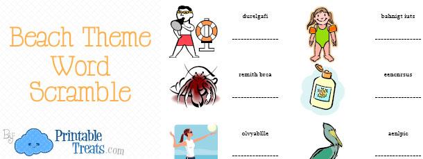 free-beach-word-scramble