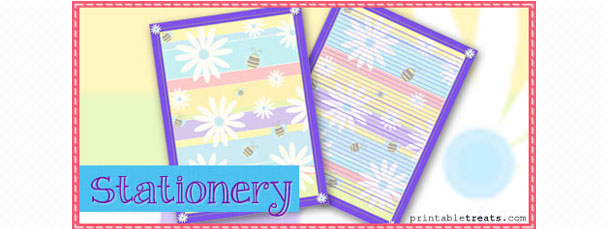 free-bees-and-flowers-stationery