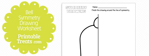 free-bell-symmetry-drawing-worksheet