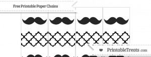 free-black-moroccan-tile-mustache-paper-chains-to-print