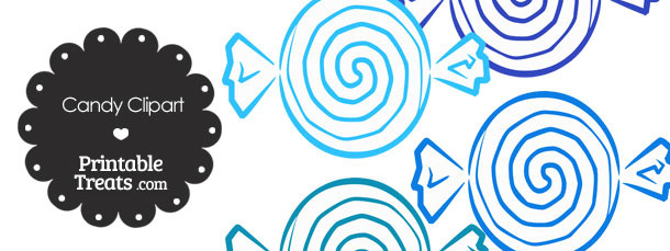 Blue Candy Clipart