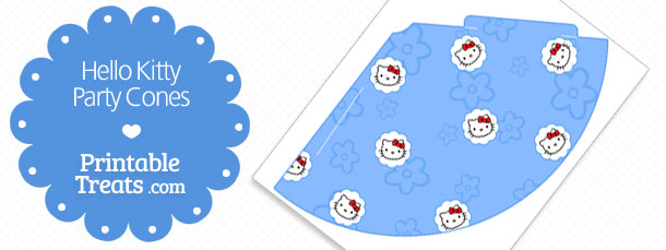 free-blue-printable-hello-kitty-party-cones