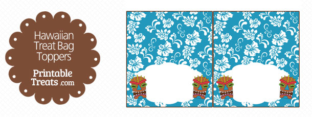 free-blue-tiki-mask-treat-bag-topper-printable