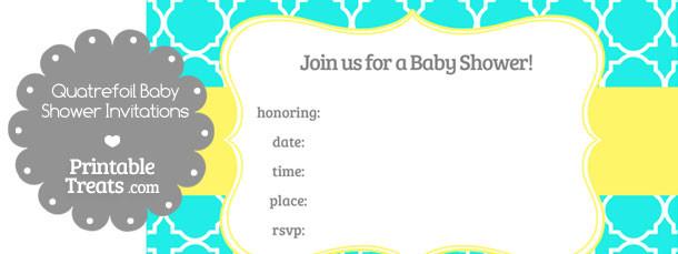 free-bright-aqua-blue-quatrefoil-baby-shower-invitation