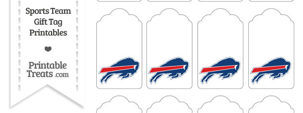 Buffalo Bills Gift Tags