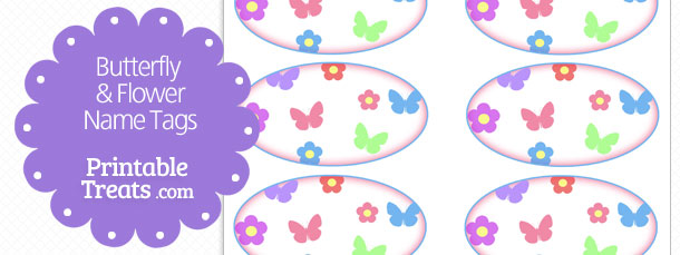 free-butterfly-and-flower-name-tags