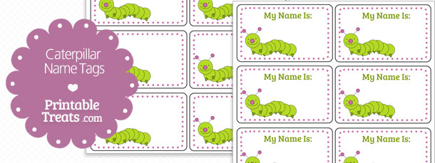free-caterpillar-name-tags