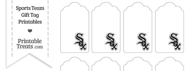 Chicago White Sox Gift Tags