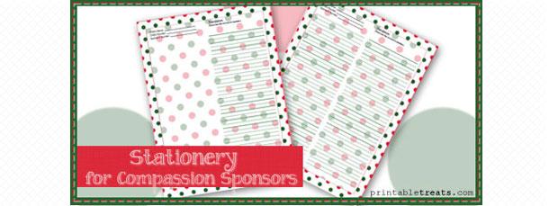 free-christmas-polka-dot-stationery-for-sponsored-child
