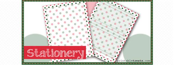free-christmas-polka-dot-stationery