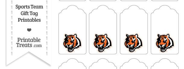 Cincinnati Bengals Gift Tags