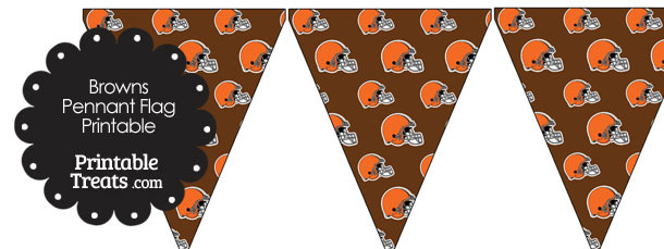 Cleveland Browns Football Pennant Banners