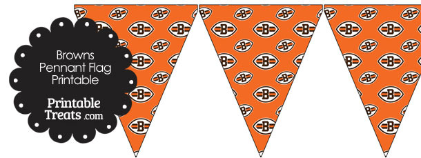 Cleveland Browns Logo Pennant Banners