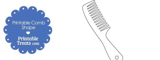 Comb Shape Template