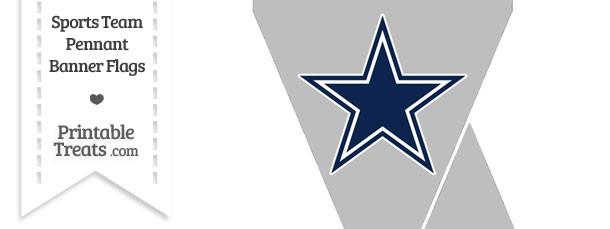 Dallas Cowboys Mini Pennant Banner Flags