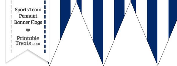 dodgers colors pennant banner flag printable. Black Bedroom Furniture Sets. Home Design Ideas