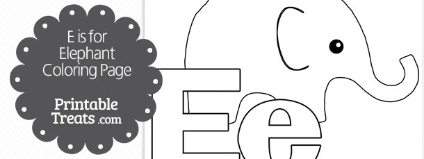 free-e-is-for-elephant-coloring-page