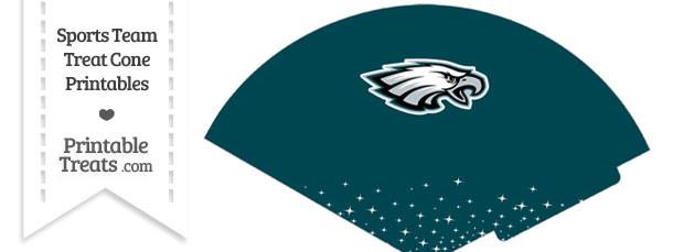 Eagles Treat Cone Printable