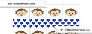 free-egyptian-blue-heart-pattern-boy-monkey-paper-chains-to-print