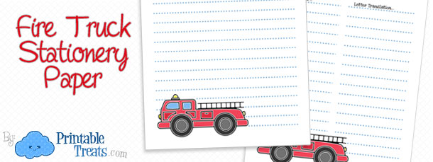 free-fire-truck-stationery-paper