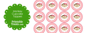free-girly-monkey-cupcake-toppers-with-pink-background