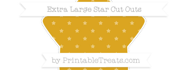 gold star pattern extra large star cut outs printable treats com