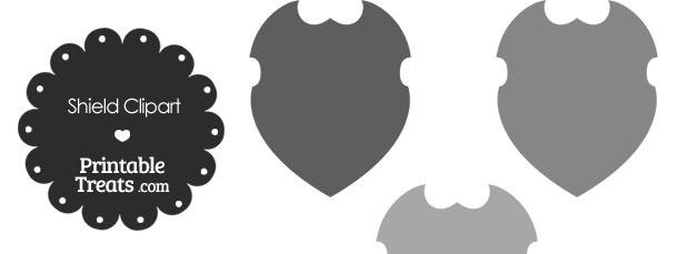 Grey Shield Clipart