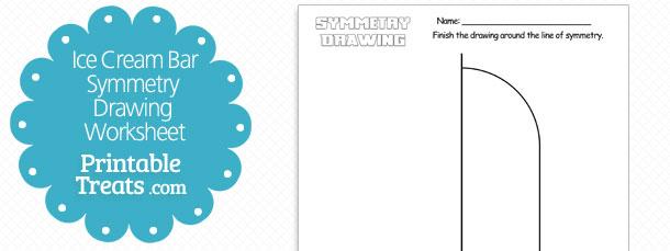 Teddy Bear Symmetry Drawing Worksheet
