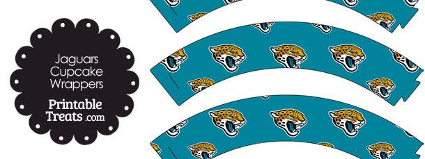 Jacksonville Jaguars Logo Cupcake Wrappers