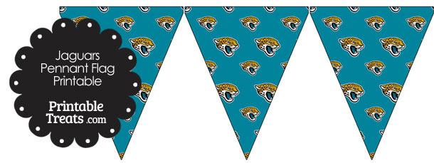 Jacksonville Jaguars Logo Pennant Banners