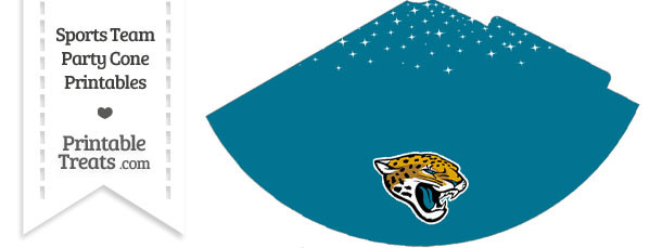 Jaguars Party Cone Printable