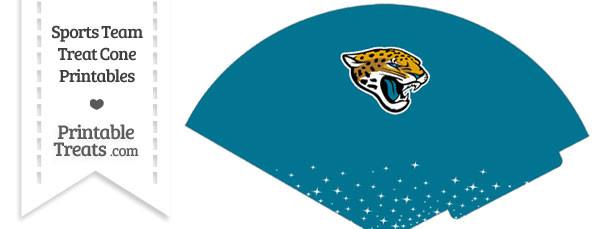 Jaguars Treat Cone Printable