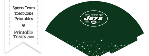 Jets Treat Cone Printable