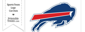 Large Buffalo Bills Logo Cut Out