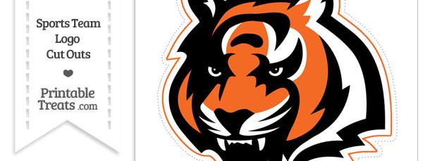 Large Cincinnati Bengals Logo Cut Out — Printable Treats.com