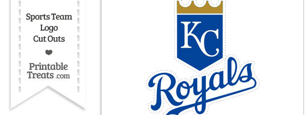 photo about Kc Royals Schedule Printable referred to as Higher Kansas Town Royals Emblem Reduce Out Printable