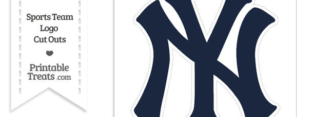 picture about New York Yankees Printable Schedule known as Superior Refreshing York Yankees Symbol Reduce Out Printable